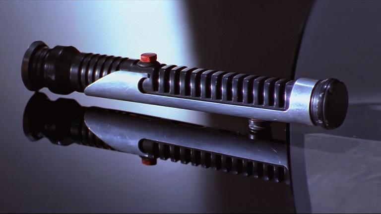 Qui-Gon Jinns Lichtschwert
