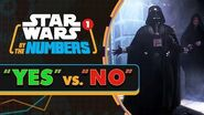 """How Many Times Is """"Yes"""" and """"No"""" Said in Star Wars? Star Wars By the Numbers"""