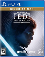 Star Wars Jedi Fallen Order PS4 Deluxe Edition Cover