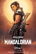 Mandalorian Poster Cara Dune
