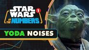 Every Time Yoda Grunts, Groans, and Giggles in the Star Wars Movies Star Wars By the Numbers