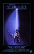 RotJ-Lichtschwert-Poster