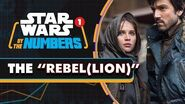 """Every Mention of """"Rebel(lion)"""" in the Star Wars Movies Star Wars By the Numbers"""