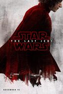 The Last Jedi Teaserposter Kylo Ren