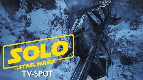 SOLO A Star Wars Story Super Bowl TV-Spot Star Wars DE