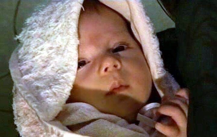 Papa-Tochter Prinzessin Leia