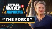 Every Time the Force is Mentioned in the Star Wars Movies Star Wars By the Numbers