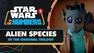 Every Alien Species in the Original Trilogy Star Wars By the Numbers