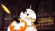 STAR WARS – GALAXY OF ADVENTURES BB-8 in der Schlacht Star Wars Kids