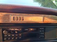 1991 Jeep Grand Wagoneer Final Edition Badge