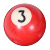Red Number 3