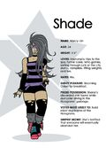 Shade character bio