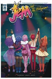 Jem and The Holograms, Issue 26 - 01