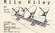 Rilo Kiley flyer 2000-09-08