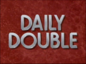Jeopardy! S8 Daily Double Logo-A