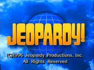 Jeopardy! 1996 Grid Set Closing Card