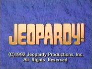 Jeopardy! 1992 Grid Set Closing Card-5