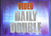 Jeopardy! S21 Video Daily Double Logo