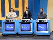 Jeopardy! 1985-1991 contestant podiums