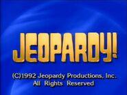 Jeopardy! 1992 Grid Set Closing Card-4