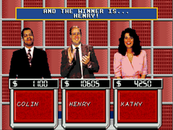 Sony PlayStation Jeopardy video game 1990s