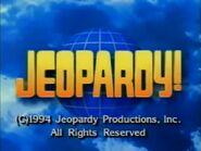 Jeopardy! 1994 Grid Set Closing Card-2
