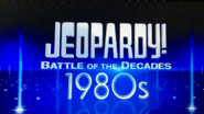 Jeopardy! Battle of the Decades 1980s Logo
