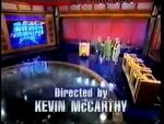 Jeopardy Closing Act 2806 First one w sushi bar set