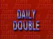 Daily Double Logo-B (Super Jeopardy! Variant)