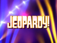 Jeopardy! Season 15 Logo