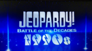 Jeopardy! Battle of the Decades 1990s Logo