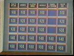 Jeopardy! 1960s Game Board