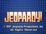 Jeopardy! 1991 Grid Set Closing Card-2