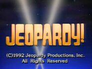 Jeopardy! 1992 Grid Set Closing Card-6