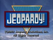 Jeopardy! 1993 Grid Set Closing Card-4
