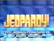 Jeopardy! 1992 Grid Set Closing Card-1