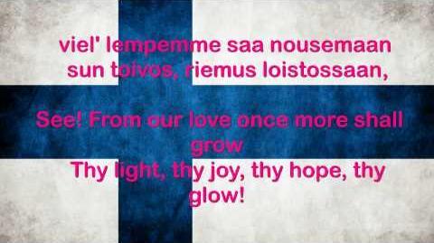 Finland National Anthem English lyrics