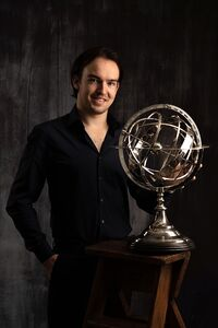 Standing With The Silver Sphere.jpg