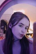 Charlotte Sophia, sister of Cometan Purple Vibe