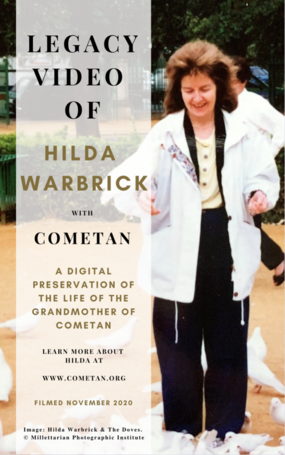 Official Cover for The Legacy Video of Hilda Warbrick