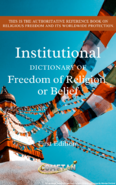 Institutional Dictionary of Freedom of Religion or Belief