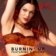 Single cover Burnin' Up