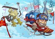 Sochi 2014 promotional art.