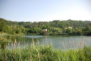 Jezero v Fies