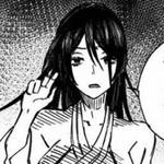 Sagiri hair down