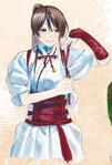 Sagiri's color scheme