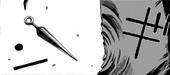 Ran deflects kunai
