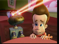 Jimmy Neutron Goddard using his lasers