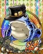 FrogJotaroBlue