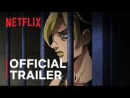 JoJo's Bizarre Adventure STONE OCEAN - Official Trailer - Netflix